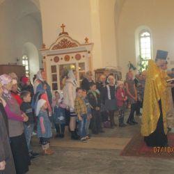 Начало обучения в Воскресной школе